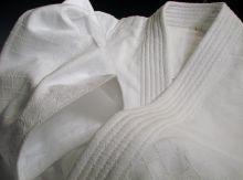 Уваги (куртка) для айкидо из Японии (IWATA) модель - MIYABI
